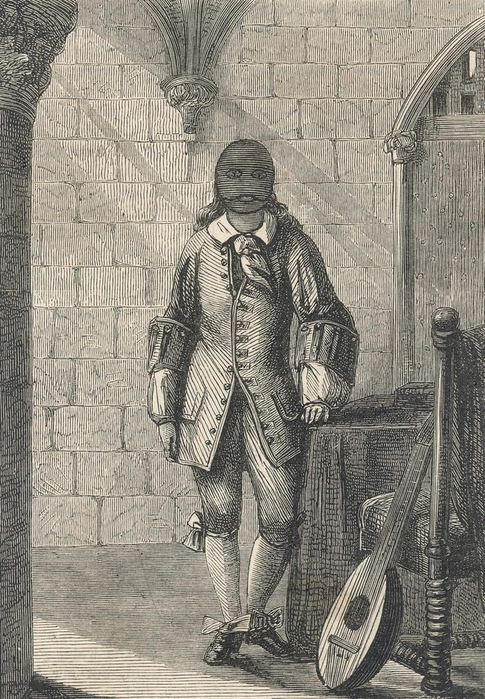 Historical Collection 135 (almost Certainly) Ercole Antonio Mattioli (1640-1703) an Italian Diplomat Imprisoned by Louis Xiv For 24 Years Dying in the Bastille late 17th century