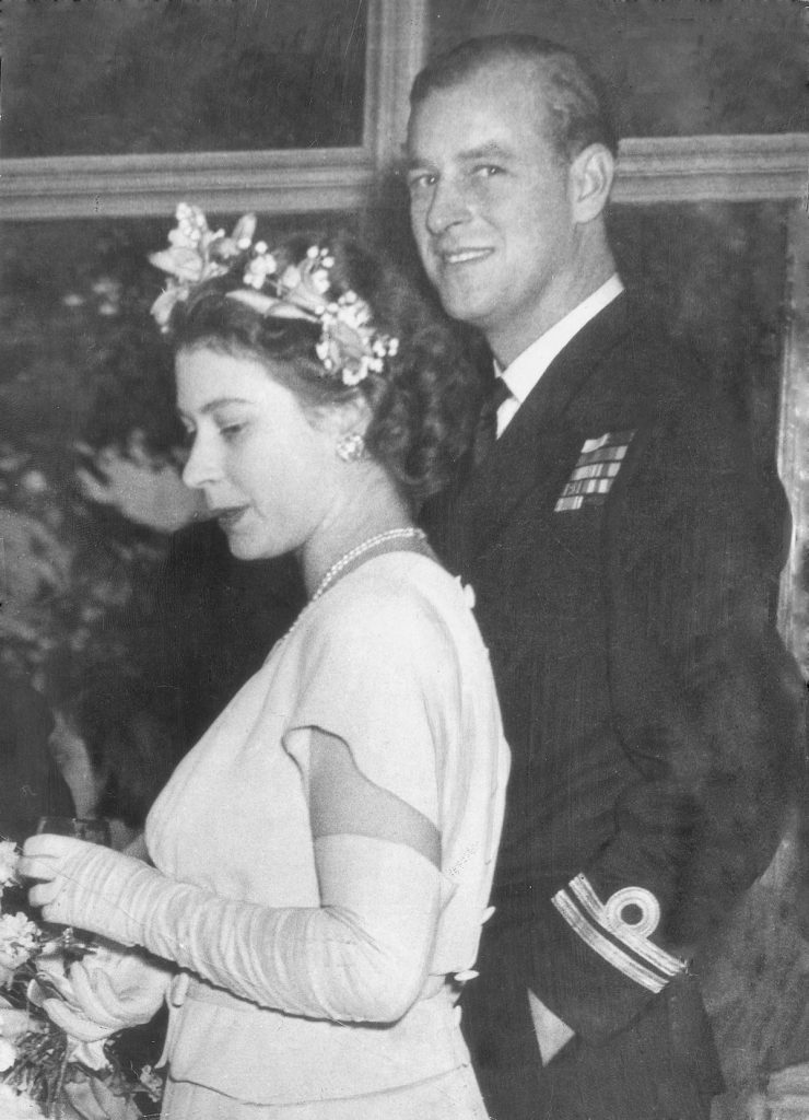 Princess Elizabeth (queen Elizabeth Ii) With Prince Philip Of Greece (duke Of Edinburgh) It Was Learned Here Tonight That The Betrothal Of Princess Elizabeth With Lieut. Philip Mountbatten R.n. Will Be Announced On Thursday. The Formal Announcement W