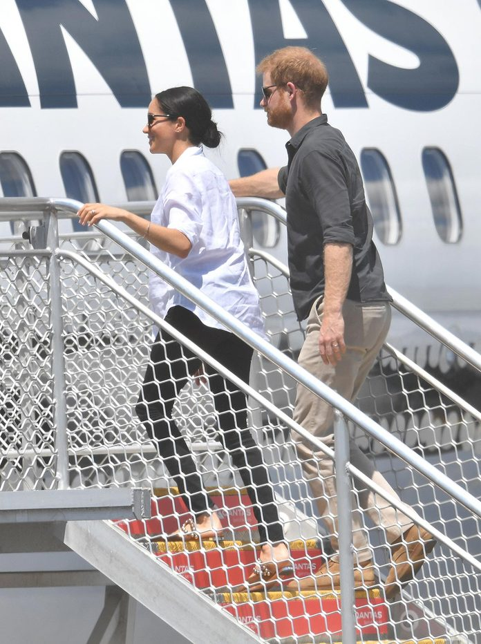 The Duke and Duchess of Sussex tour Australia, Hervey Bay - 23 Oct 2018