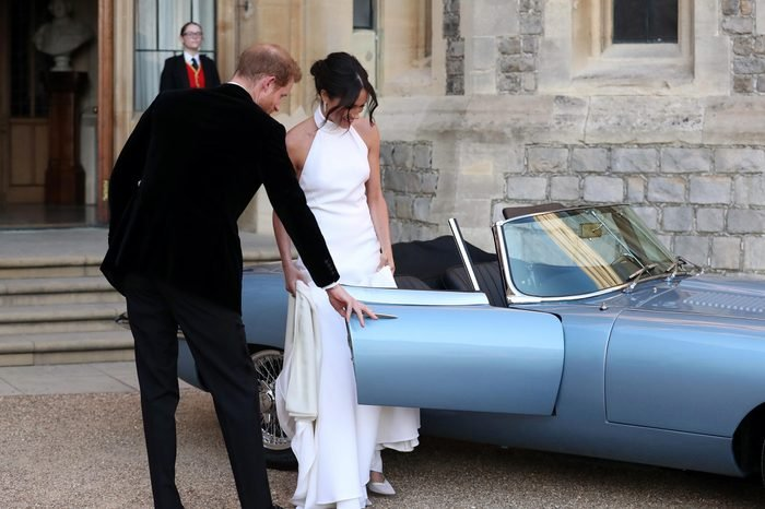 The wedding of Prince Harry and Meghan Markle, Open-top car, Windsor, Berkshire, UK - 19 May 2018