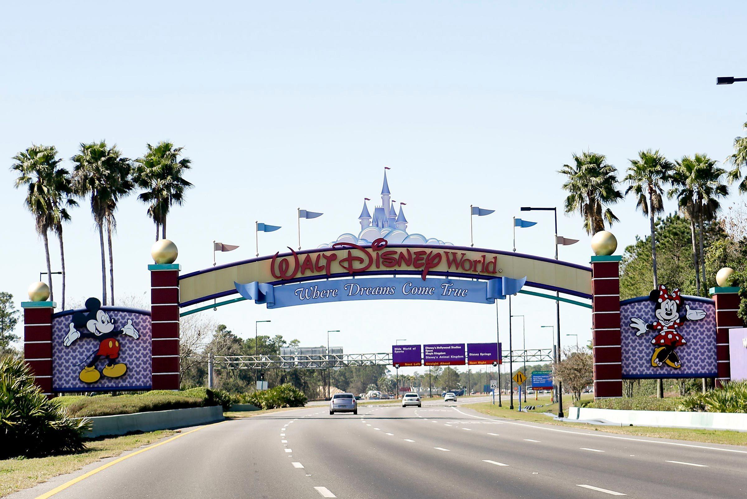 Theme Parks Tax Wars, Lake Buena Vista, USA - 31 Jan 2017