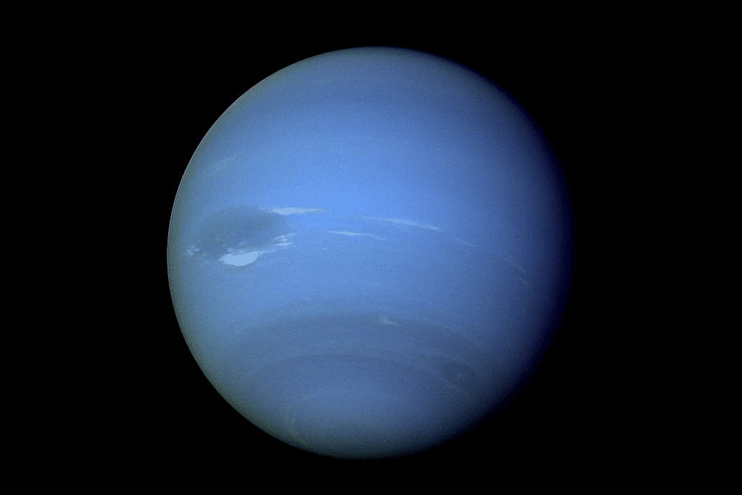 Voyager 2 Image Of Neptune