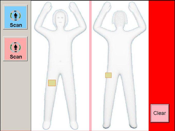 body scanner airport tsa