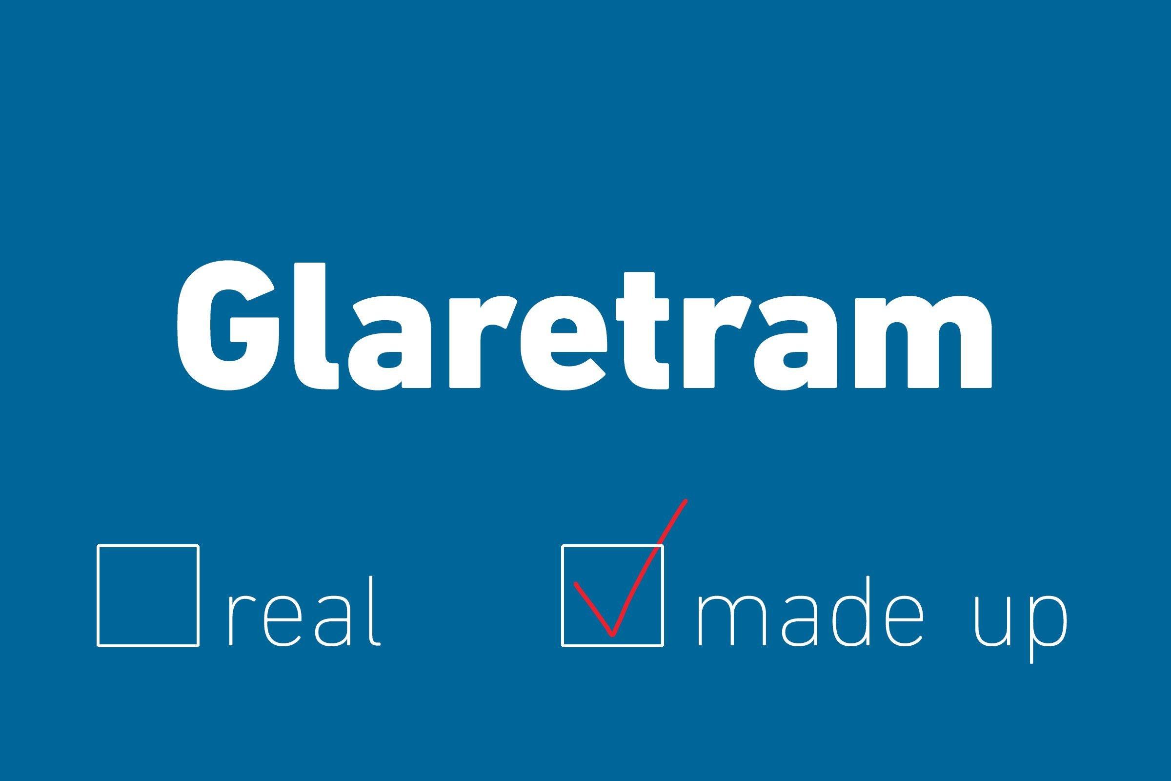 glaretram made up