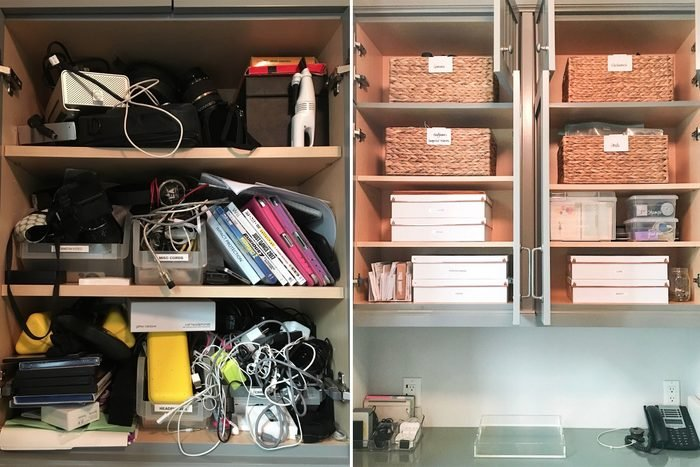 office home organization makeover