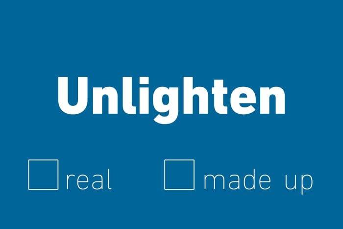 unlighten