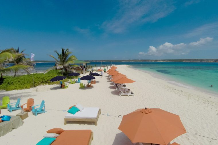 sandy beach anguilla