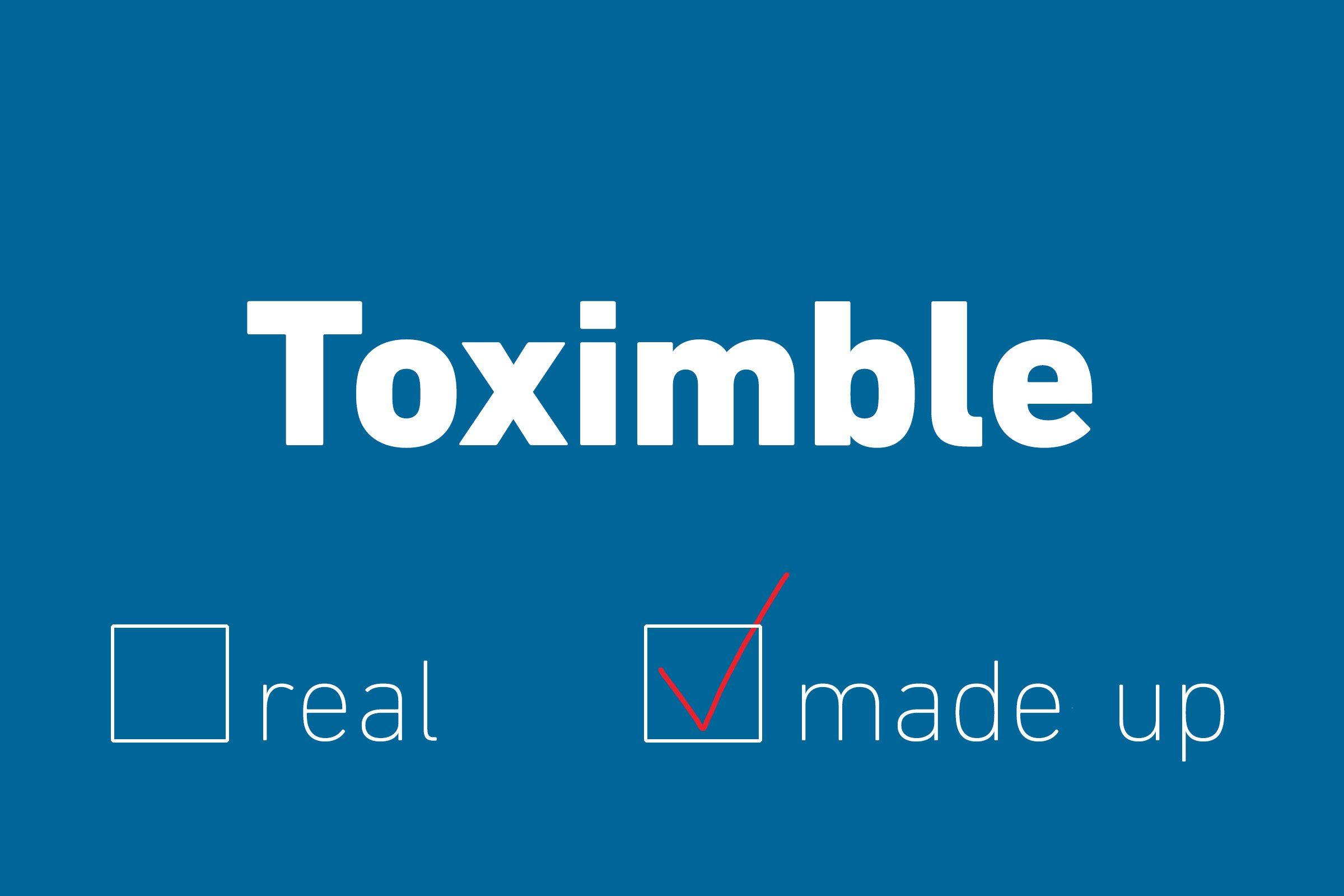 toximble made up