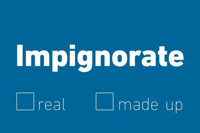 impignorate
