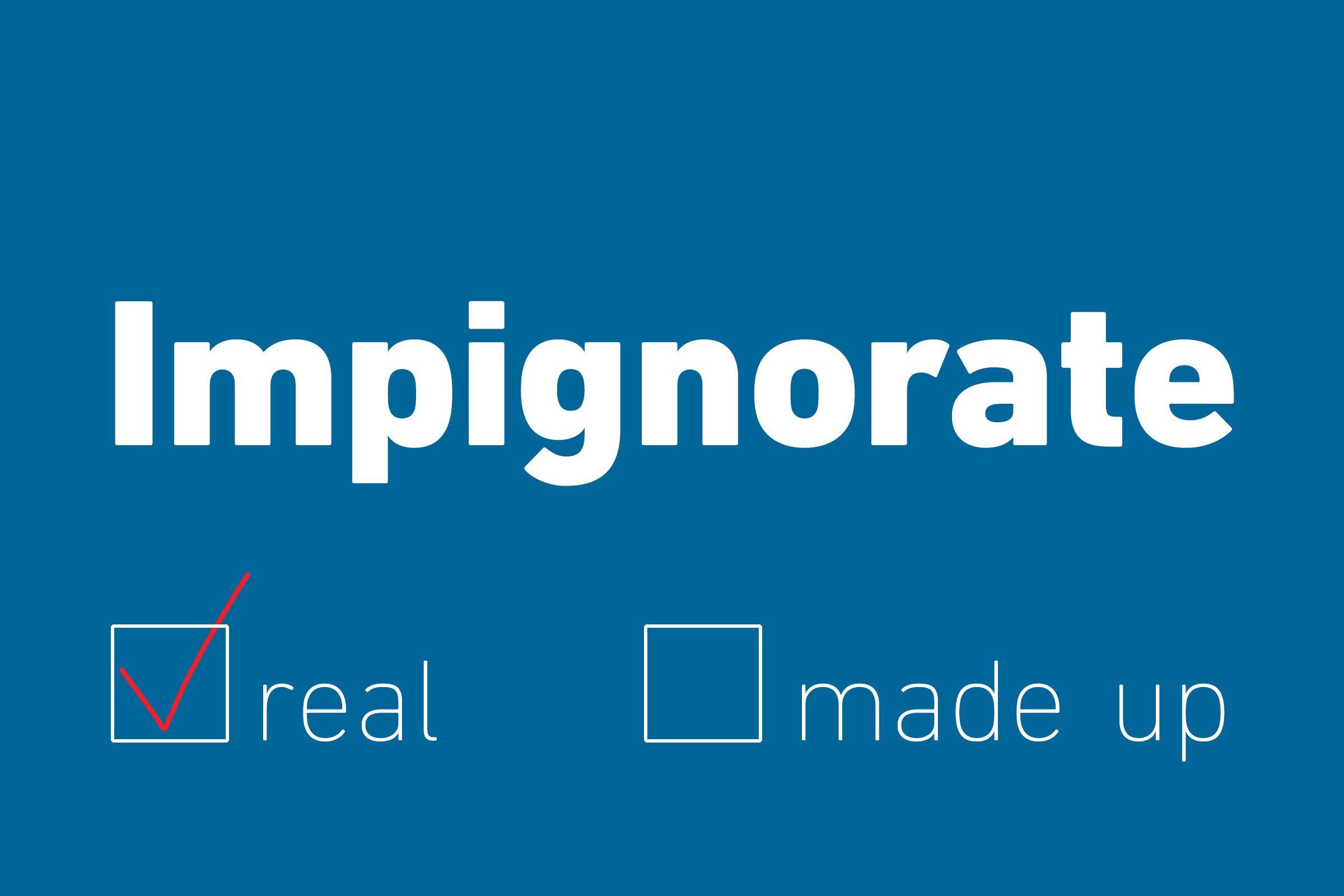 impignorate real