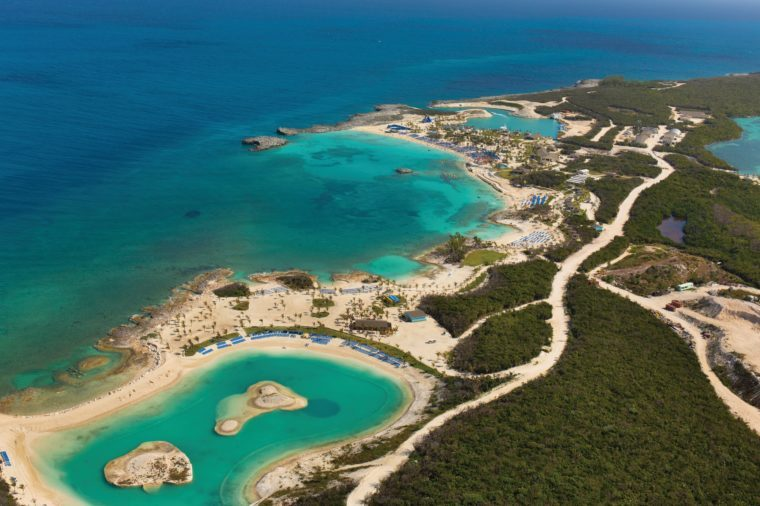 Norwegian Cruise line Great stirrup cay