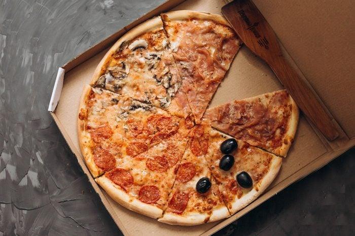 takeout pizza box