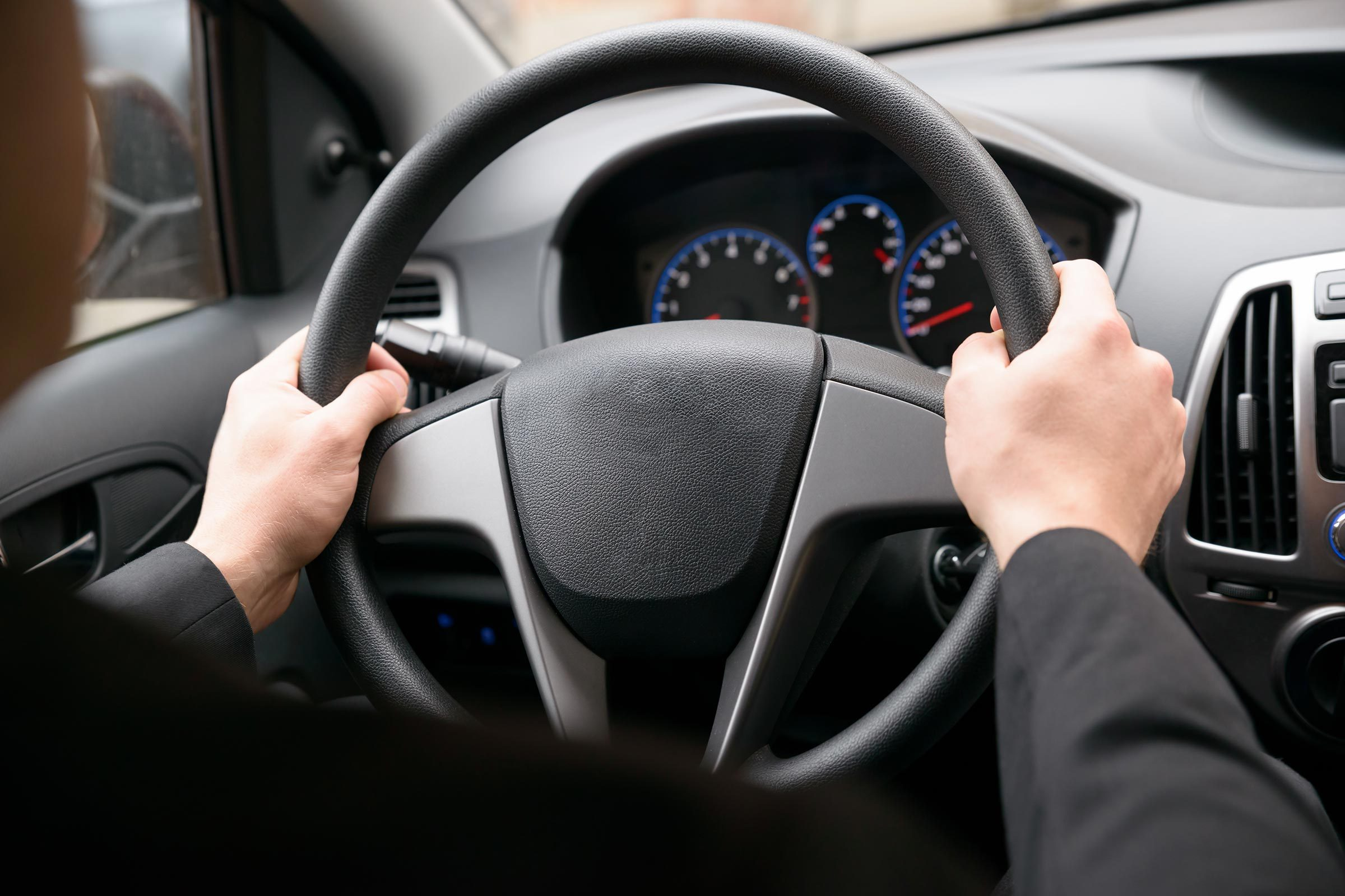 steering wheel car