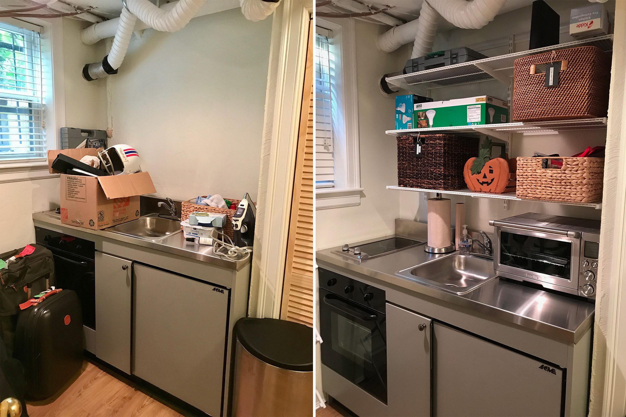 kitchen home organization makeover