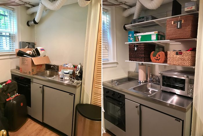 kitchen home organization makeover