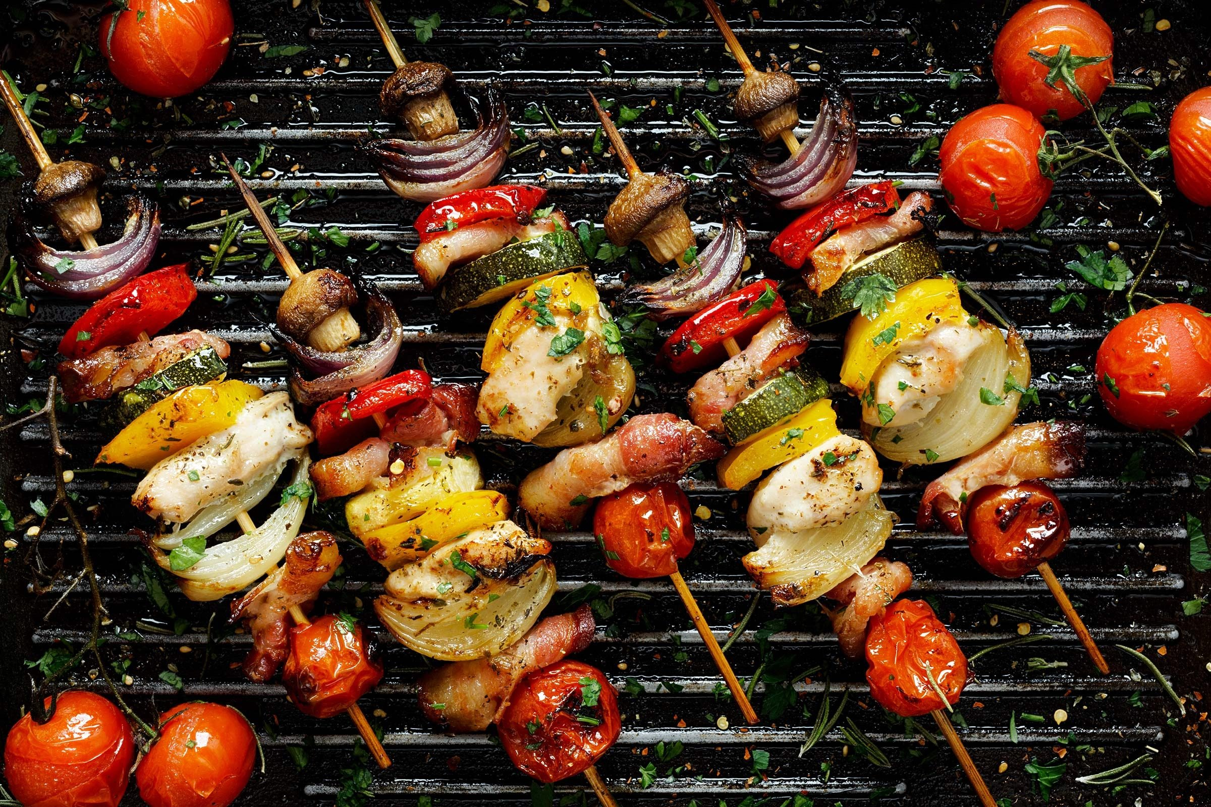 grill kabobs