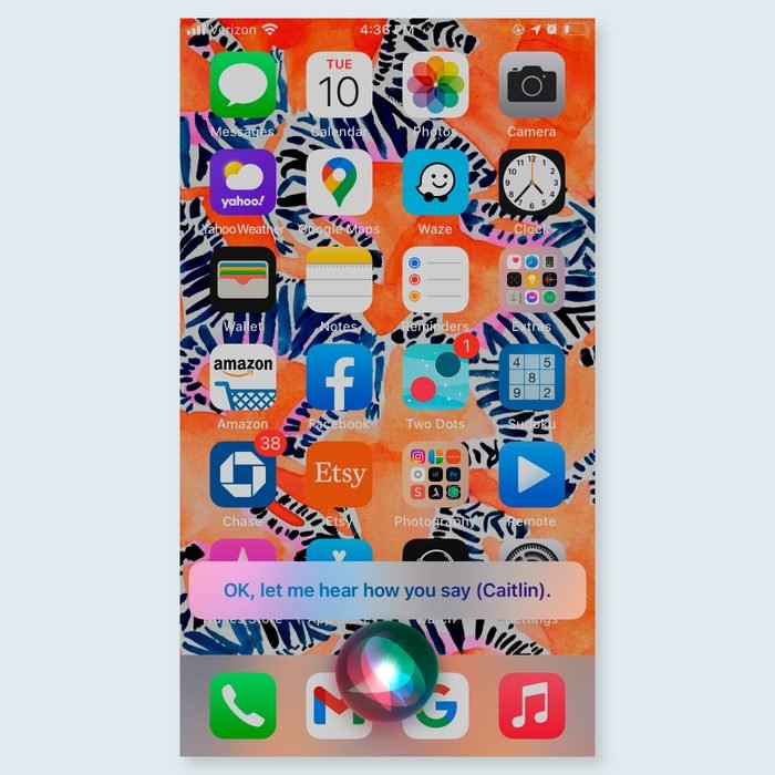 iphone tricks - correct Siri
