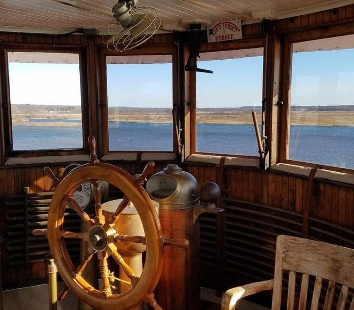 railroad stateroom houseboat airbnb