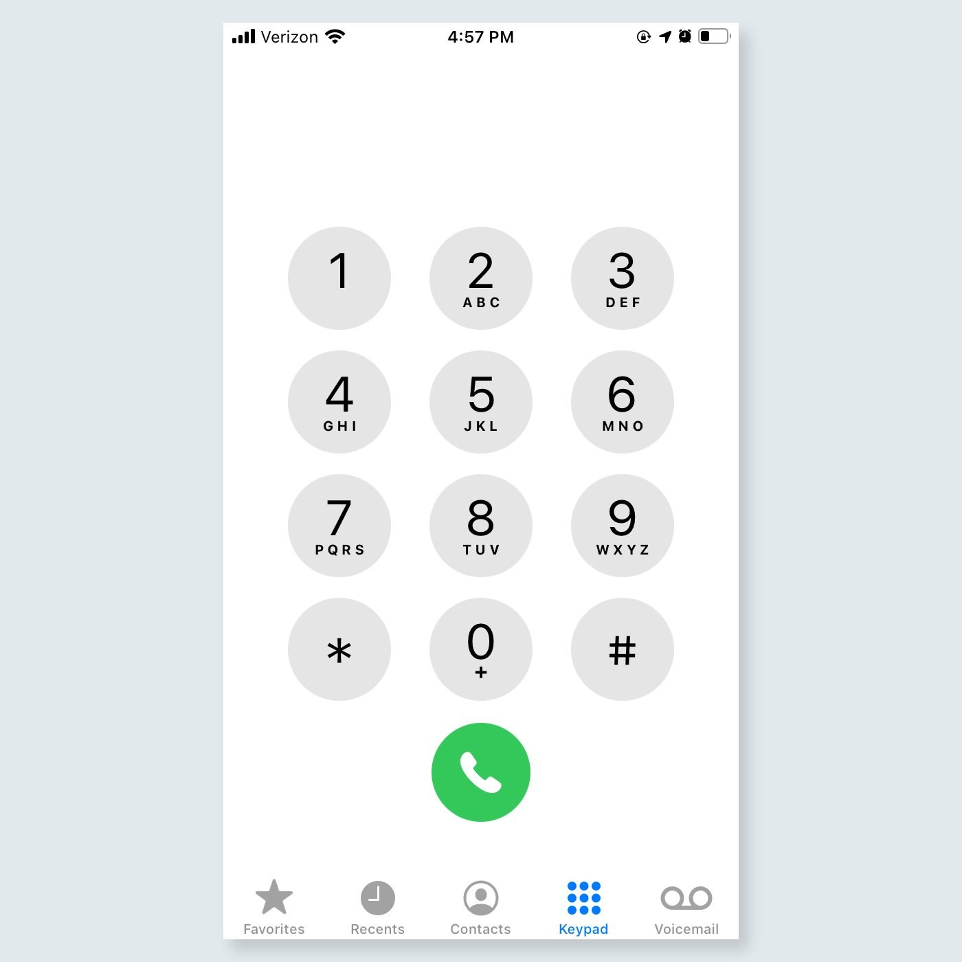 iphone tricks - Press one button to make a call