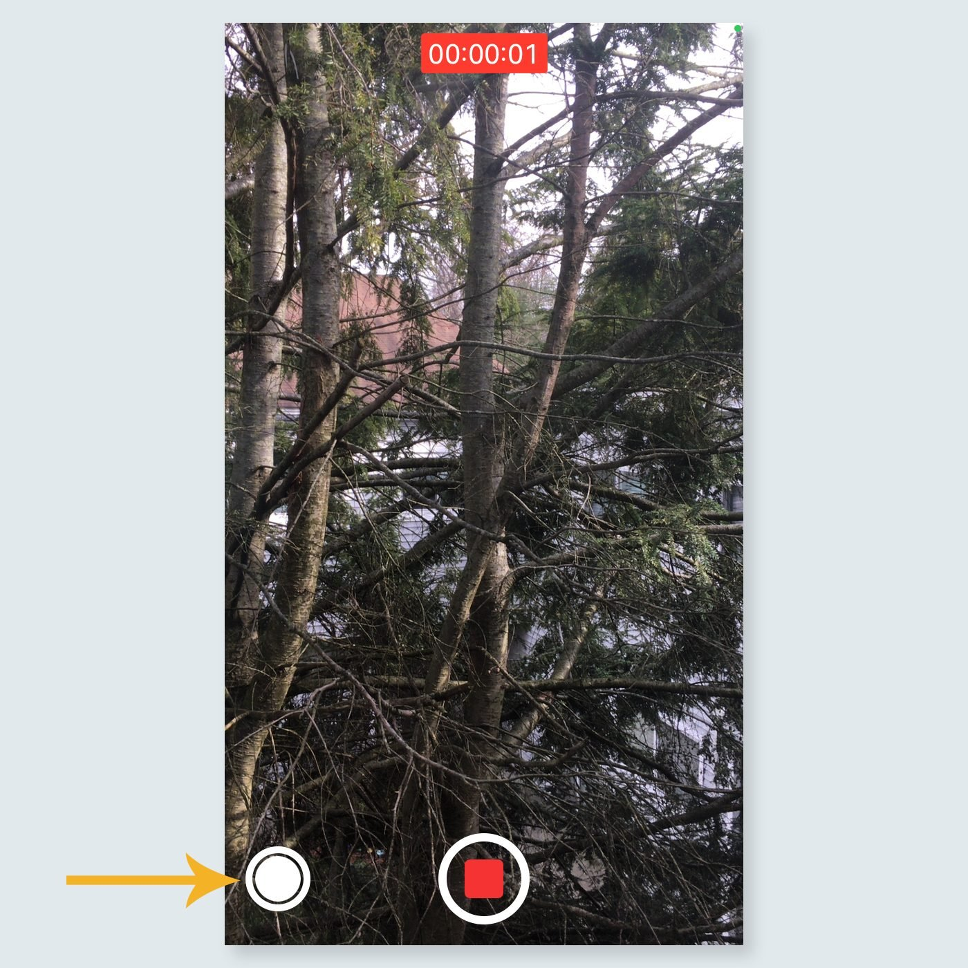 iphone tricks - Record a video and take a picture at the same time