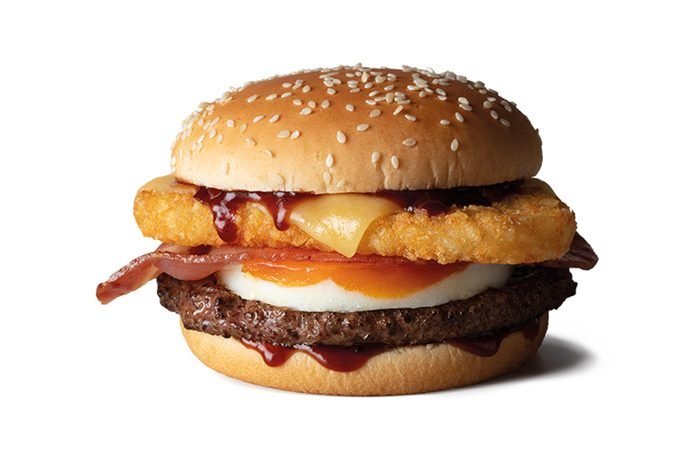 Big Brekkie Beef Burger