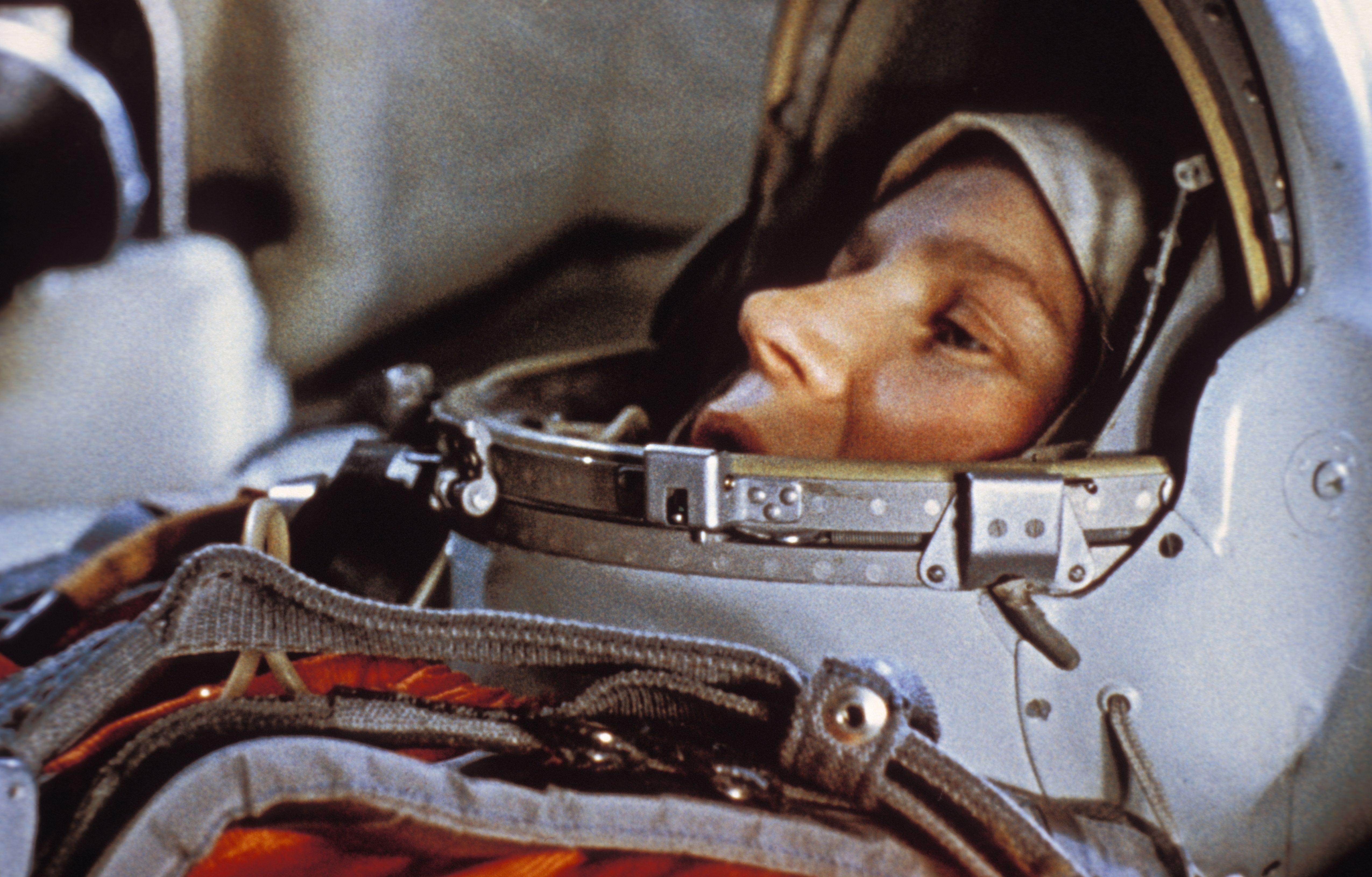 Soviet cosmonaut Valentina Tereshkova