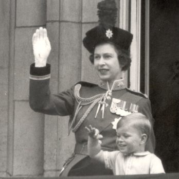 Trooping the Colour: 19 Vintage Photos of the Queen's Annual Parade