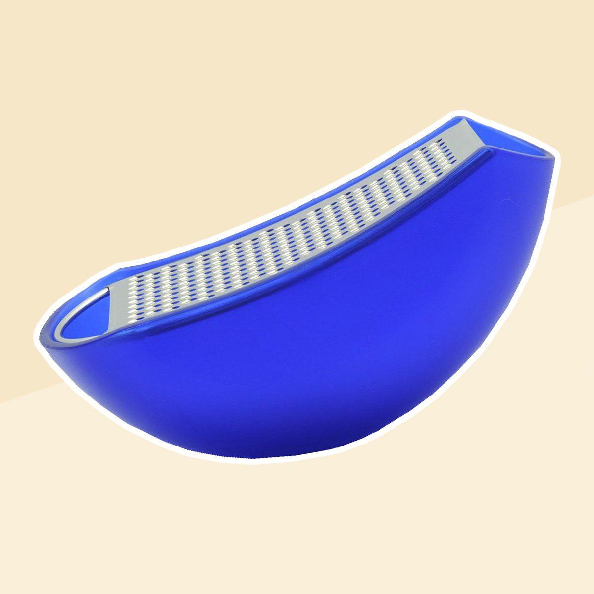 A di Alessi Parmenide Cheese Grater, Blue