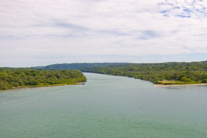 Chagres River in Panama