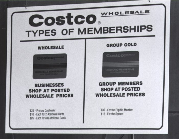 costco cards vintage