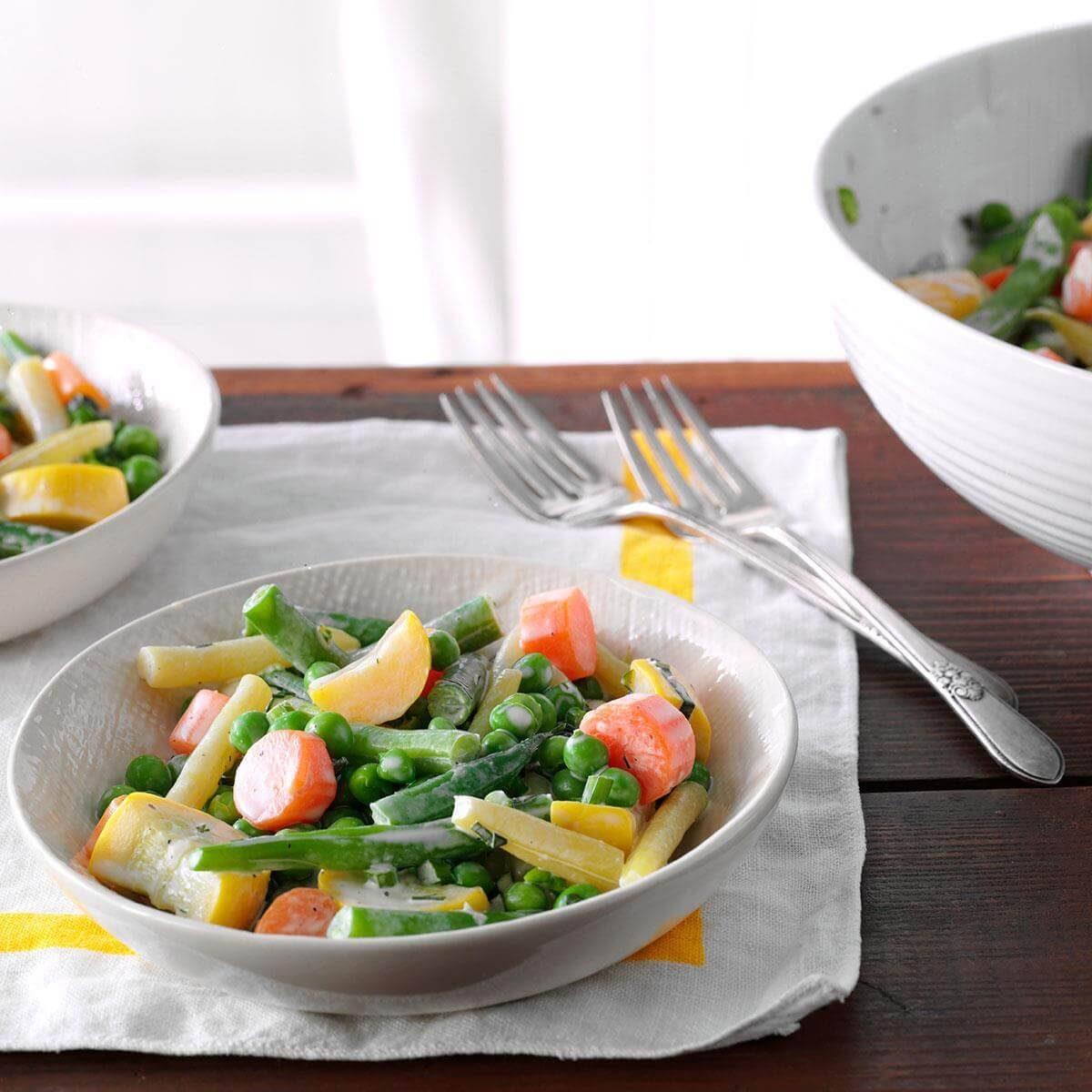 Cream of the crop veggies