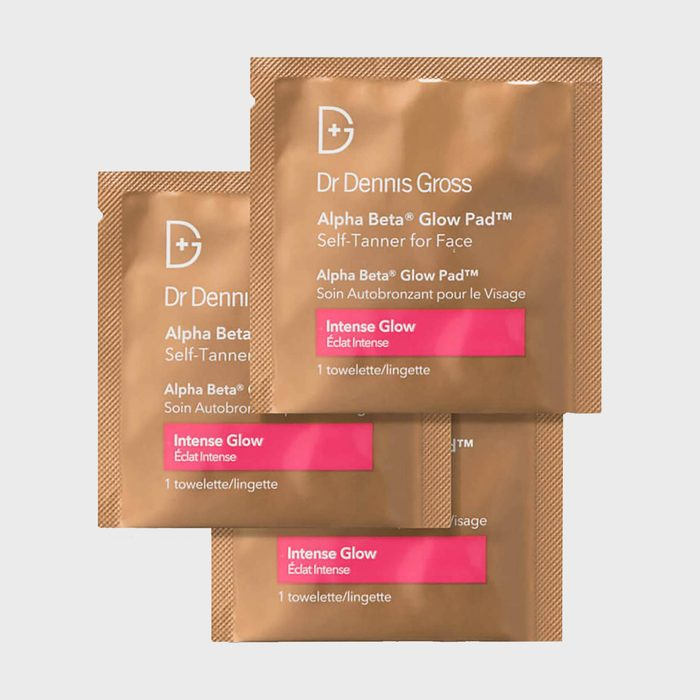 Dr. Dennis Gross Alpha Beta Glow Pad Self Tanner For Face