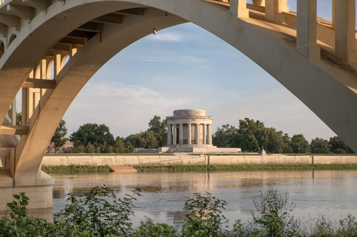 Evening at George Rogers Clark National Historical Park