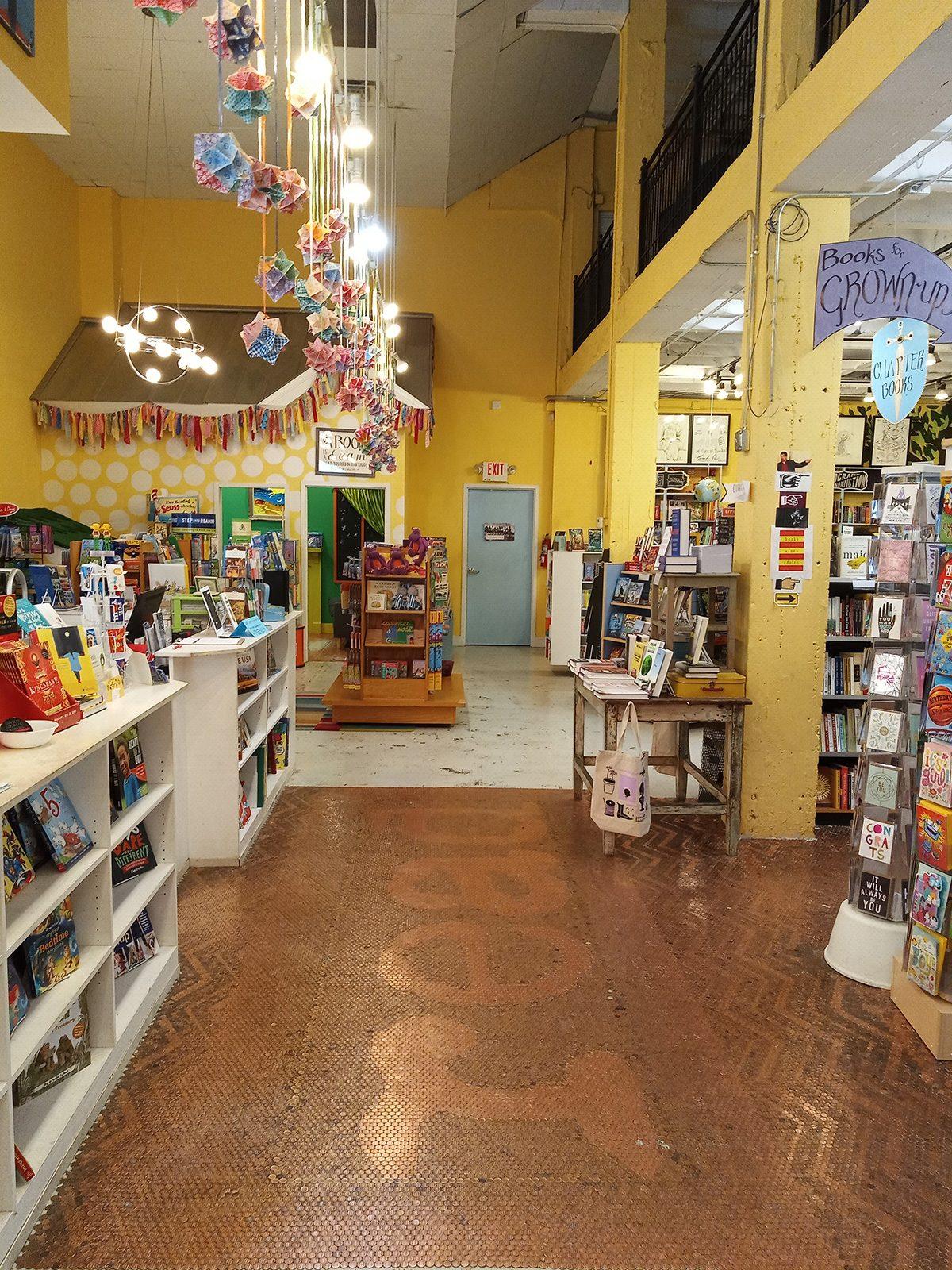 Georgia Little shop of stories bookstore