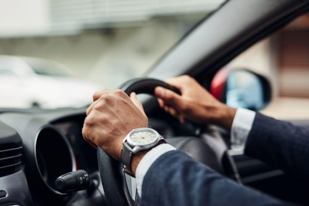 steering wheel scary driving car
