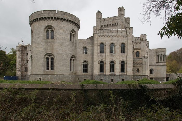 Gosford Castle. 19th-century country house situated in Gosford, a townland of Markethill, County Armagh, Northern Ireland.