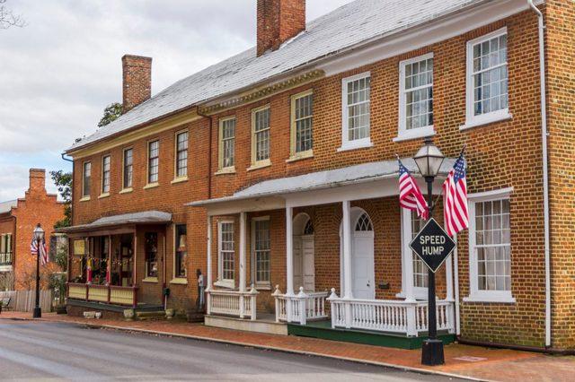 Historical building in Jonesborough, Tennessee