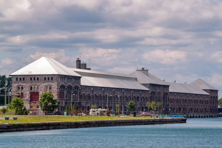 Hydro Electric Power Station in Sault Saint Marie