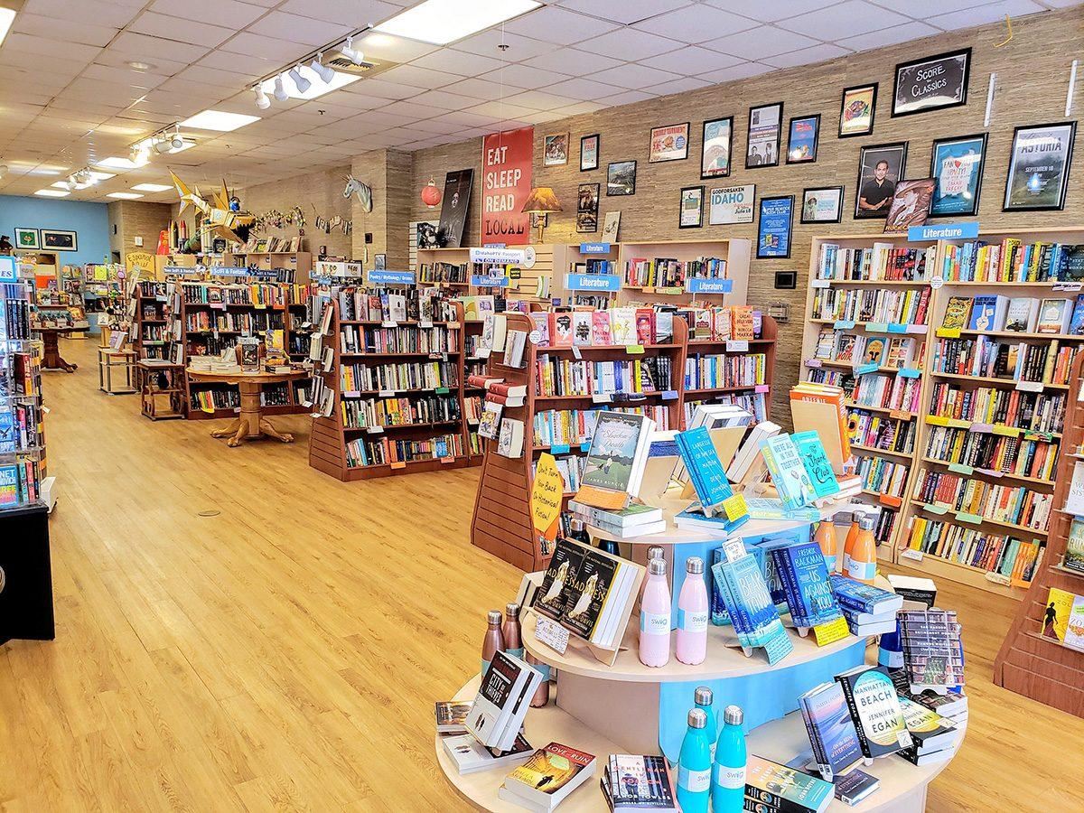 resicovered books bookstore Idaho