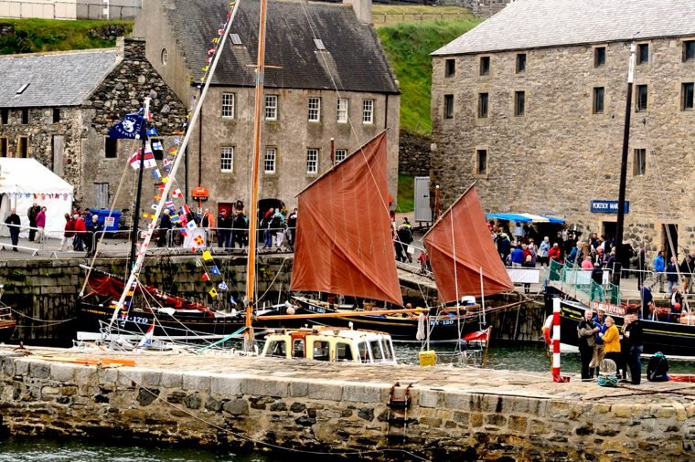 Festival Perahu Di Scotland 22-23 Juni, Gambar dari KATHY MANSFIELD/COURTESY SCOTTISH TRADITIONAL BOAT FESTIVAL