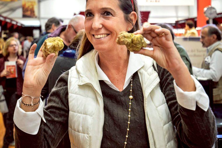 white truffle fair italy