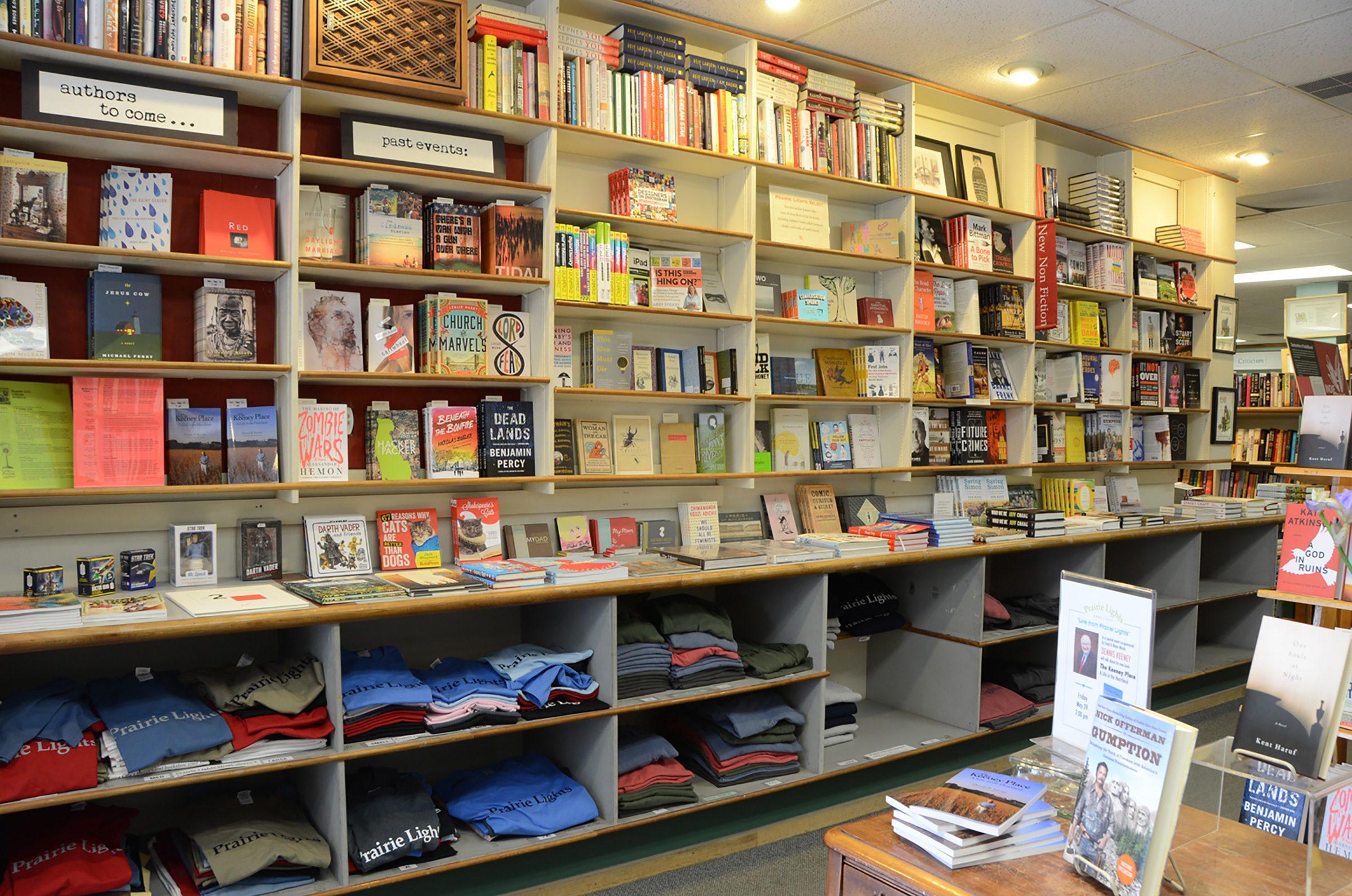 Iowa Prairie Lights books and cafe