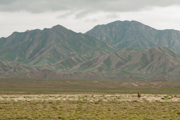 The majestic Kunlun Mountains