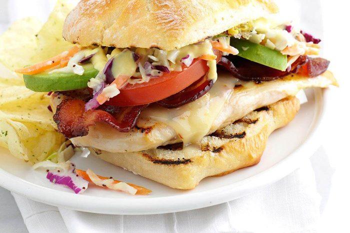 1960s: Fast-Food Chicken Sandwich