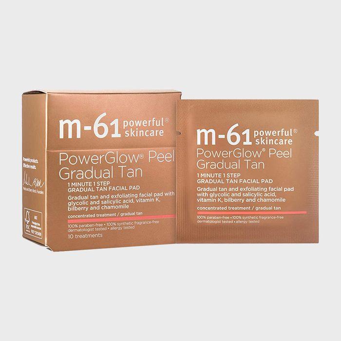 M 61 Powerglow Peel Gradual Tan