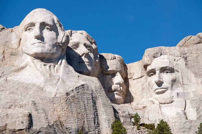 Mount Rushmore National Monument in South Dakota.
