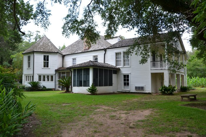 Oakland Plantation, part of the Cane River Creole National Historical Park located in Natchitoches, Louisiana