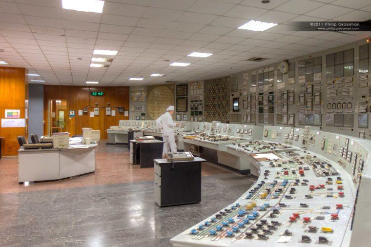 Chernobyl Reactor-Control-Room