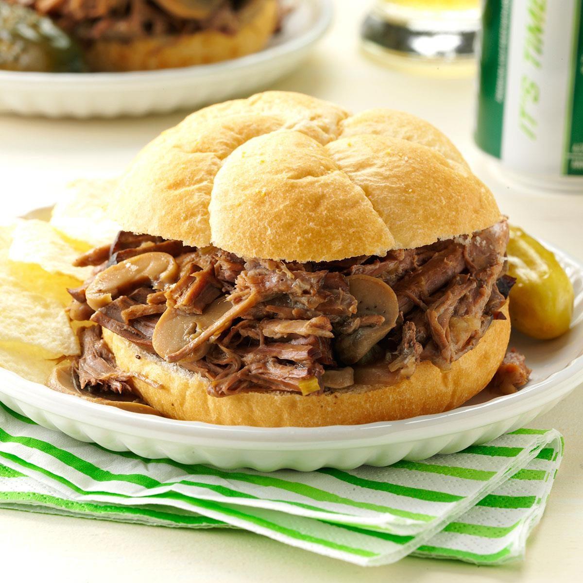 Inspired by: Arby's Roast Beef Sandwich
