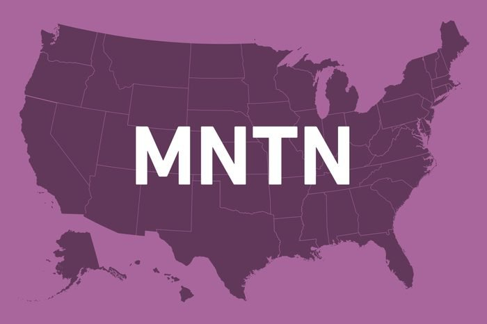 state names without vowels montana